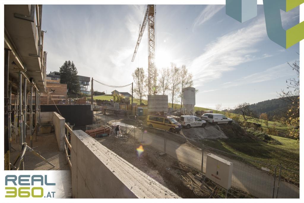 Baufortschritt Aussicht Terrasse