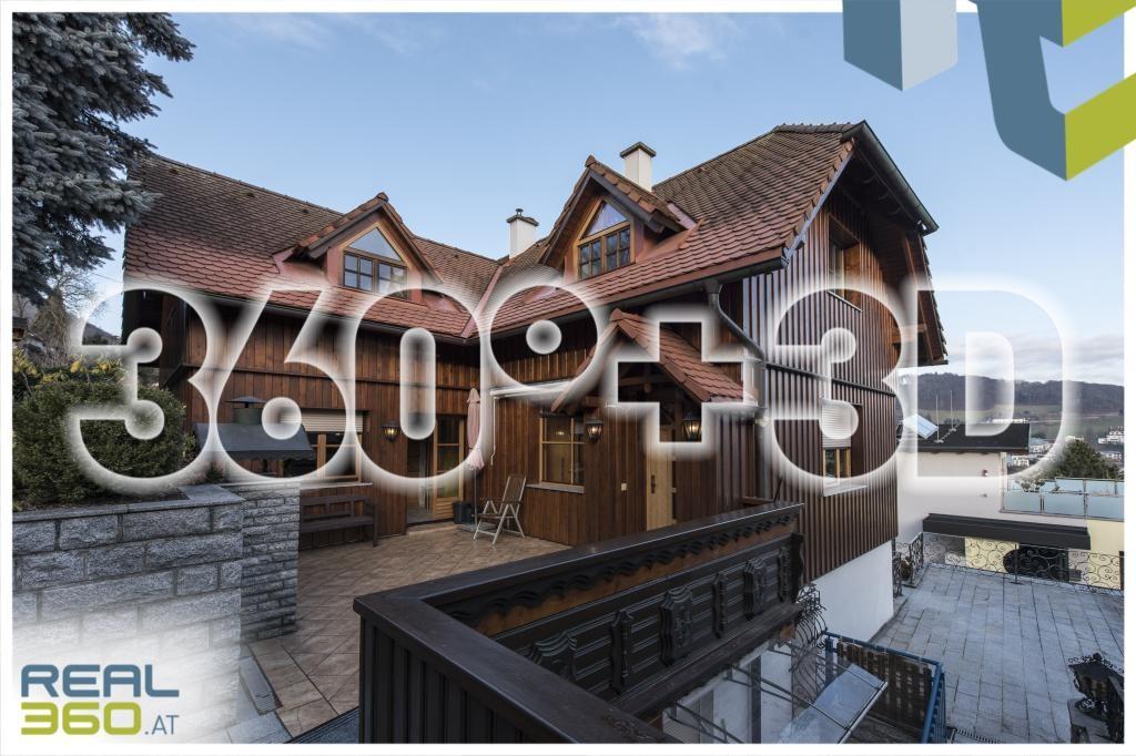 Außenansicht mit Terrasse 360°+3D