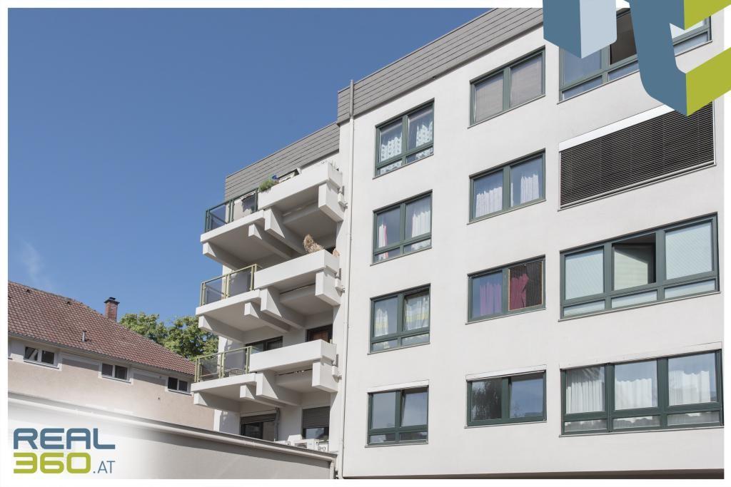 Wohnen mit Ausblick - extravagante 3-Zimmer Wohnung mit sonnigem Balkon und voll ausgestatteter Küche! /  / 4040Linz / Bild 1