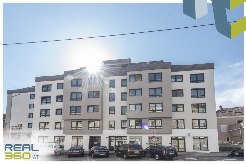Wohnen mit Ausblick - extravagante 3-Zimmer Wohnung mit sonnigem Balkon und voll ausgestatteter Küche! /  / 4040Linz / Bild 2