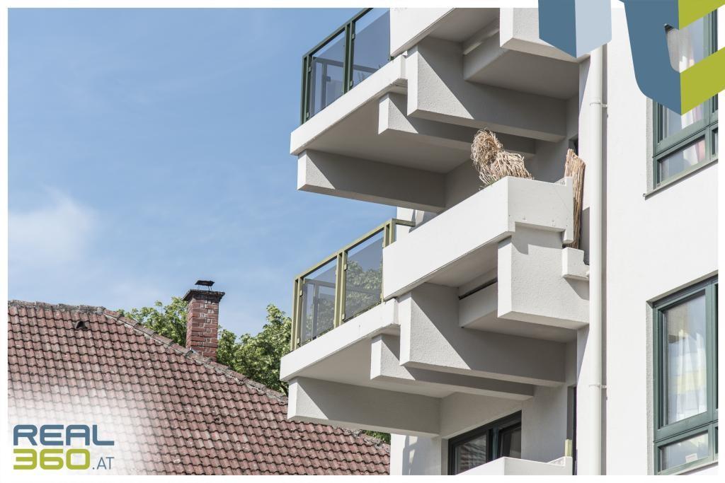 Wohnen mit Ausblick - extravagante 3-Zimmer Wohnung mit sonnigem Balkon und voll ausgestatteter Küche! /  / 4040Linz / Bild 3