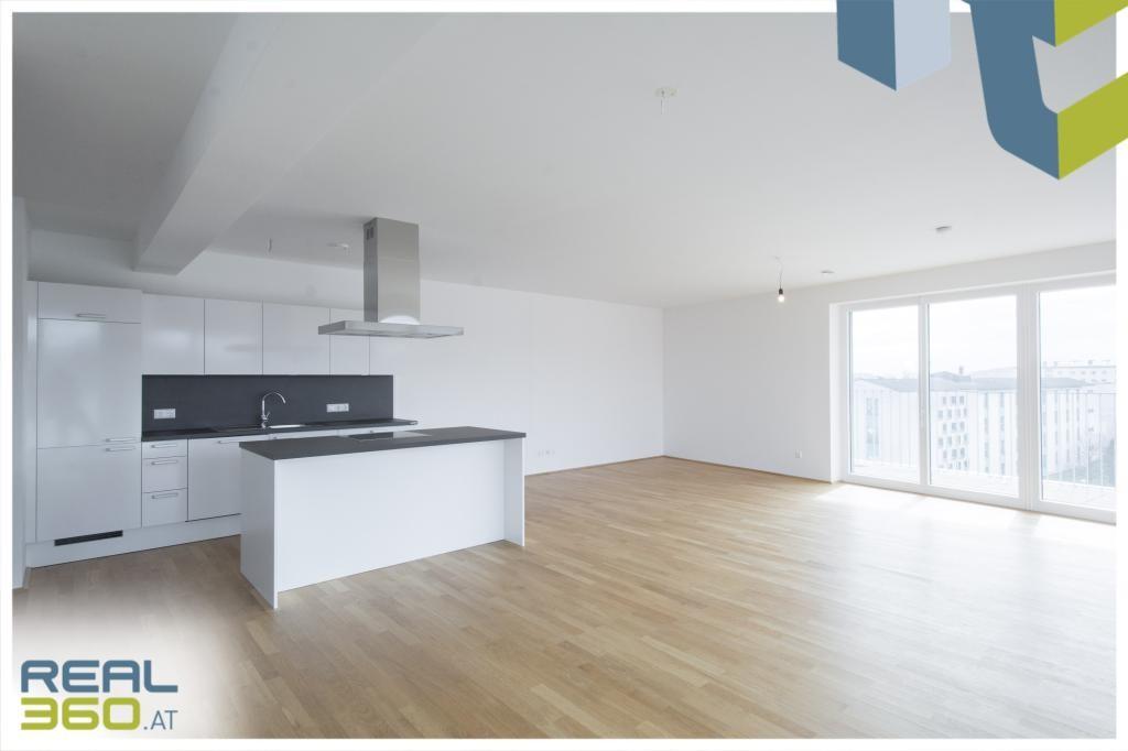 Küche/Wohn/Essbereich mit Terrassenzugang I