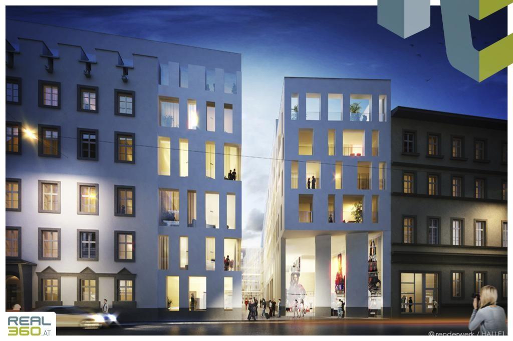 Hotel Steingasse Abend - Visualisierung