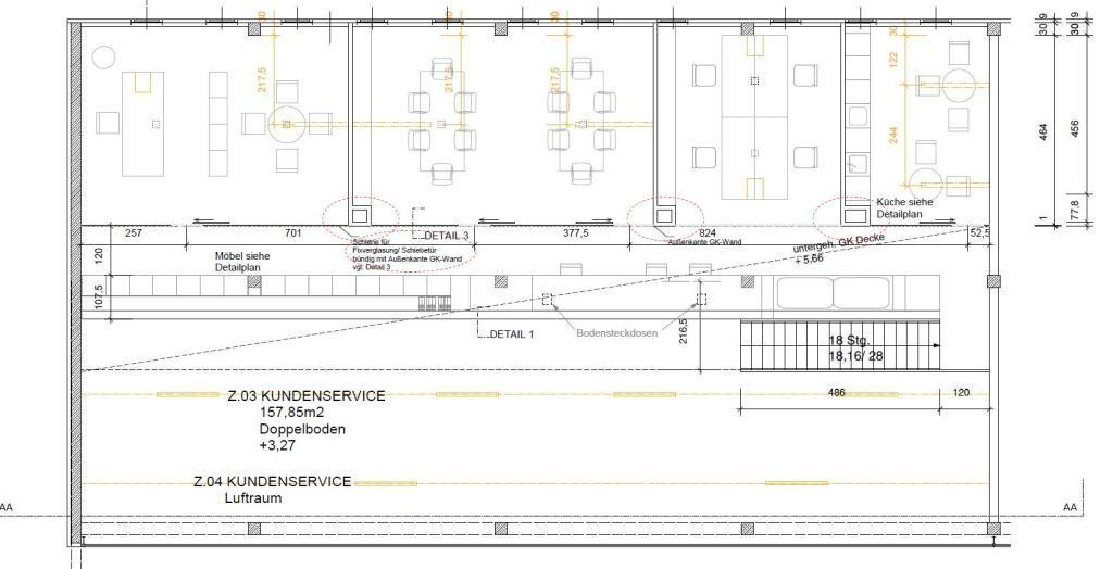 Plan 1. Obergeschoss