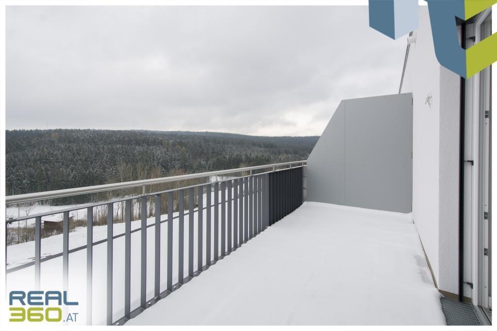 Terrasse vom Schlafzimmer begehbar