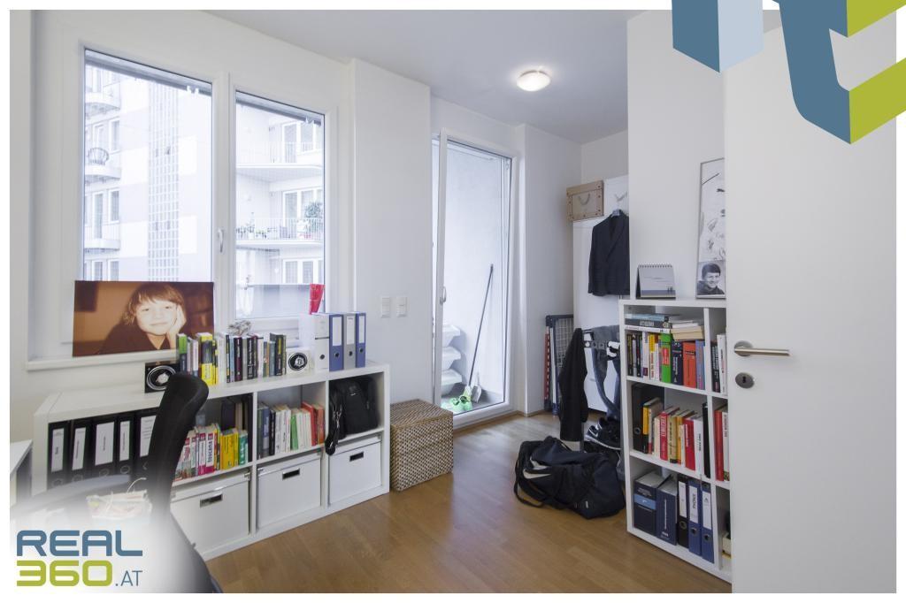 Büro oder Kinderz. mit Terrasse, innenhofseitig