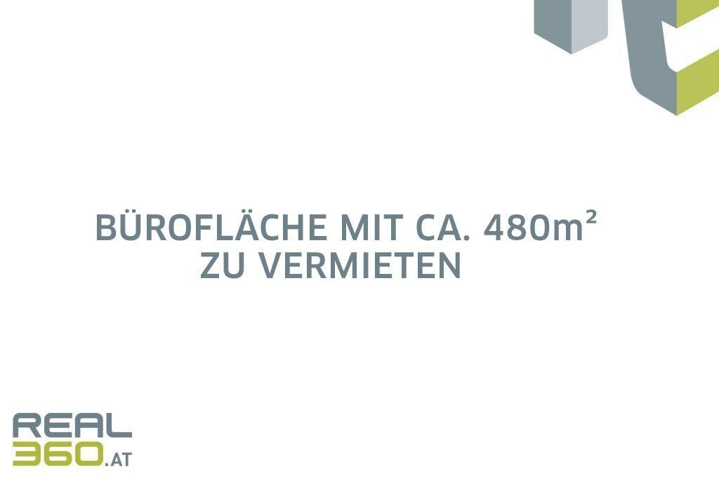 Büroflächen mit ca. 480m² zu vermieten