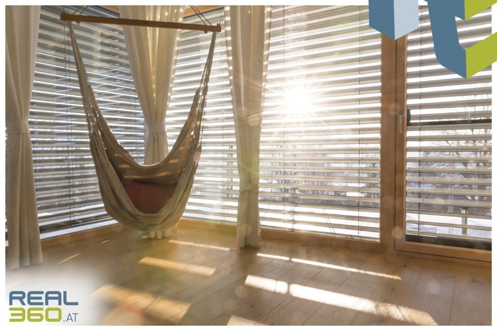 Viele Sonnenstunden im Wohn/Essbereich