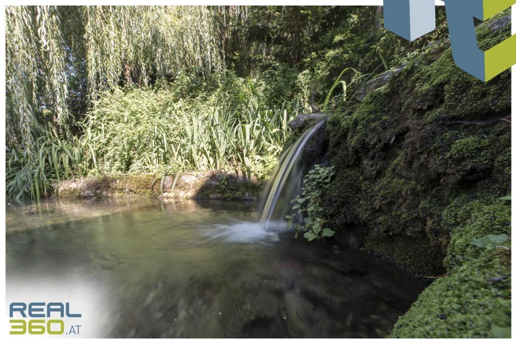 Quellwasser (30 Liter pro Sekunde)