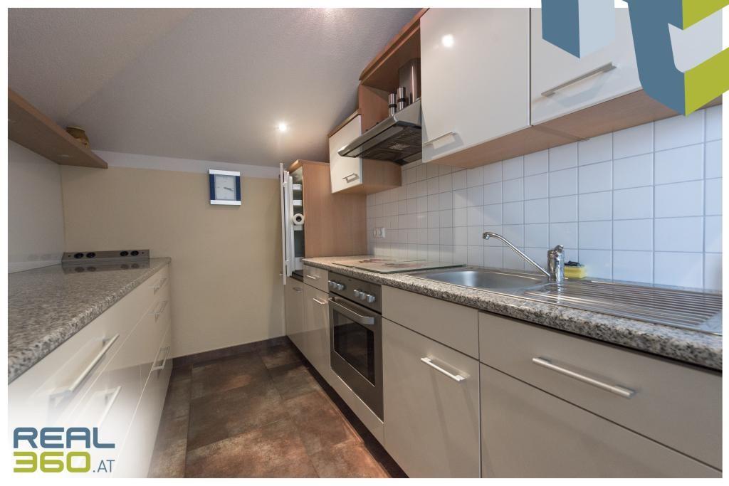 Küche in der DG-Wohnung