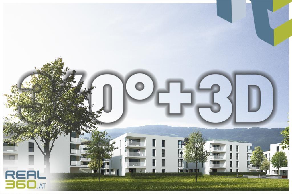 Ansicht Wohnanlage - 360°+3D