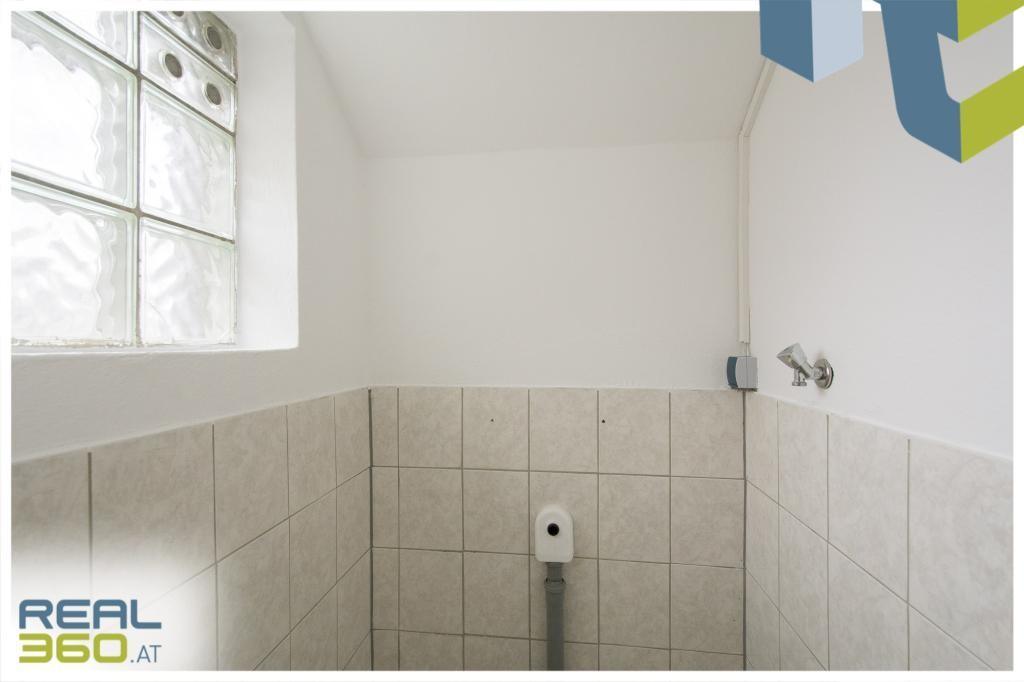 Abstellraum mit Wasseranschluss EG