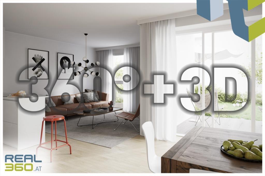 Innenansicht - Visualisierung 360°+3D