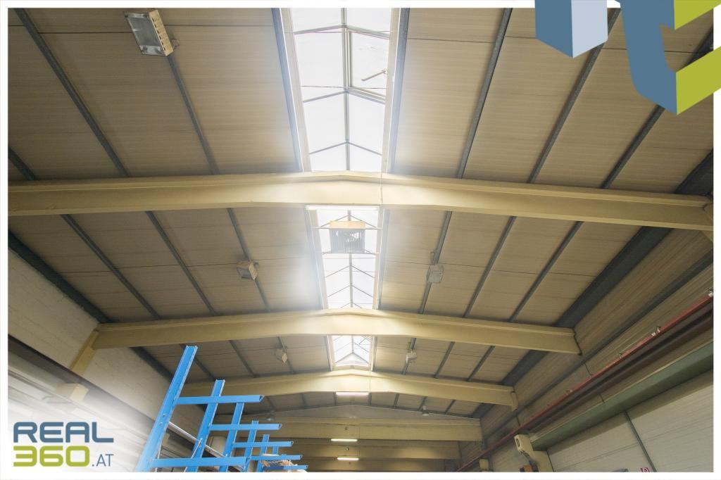 Natürliche Belichtungsflächen in Halle 2
