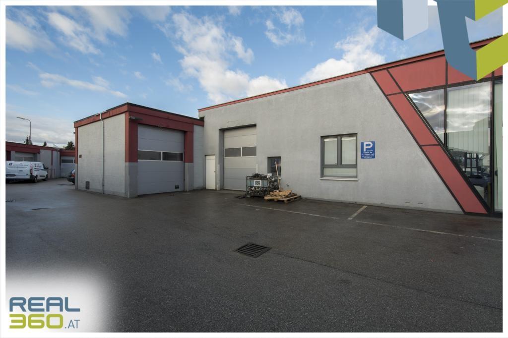 Rolltore Lager und Werkstatt + 2 Parkplätze