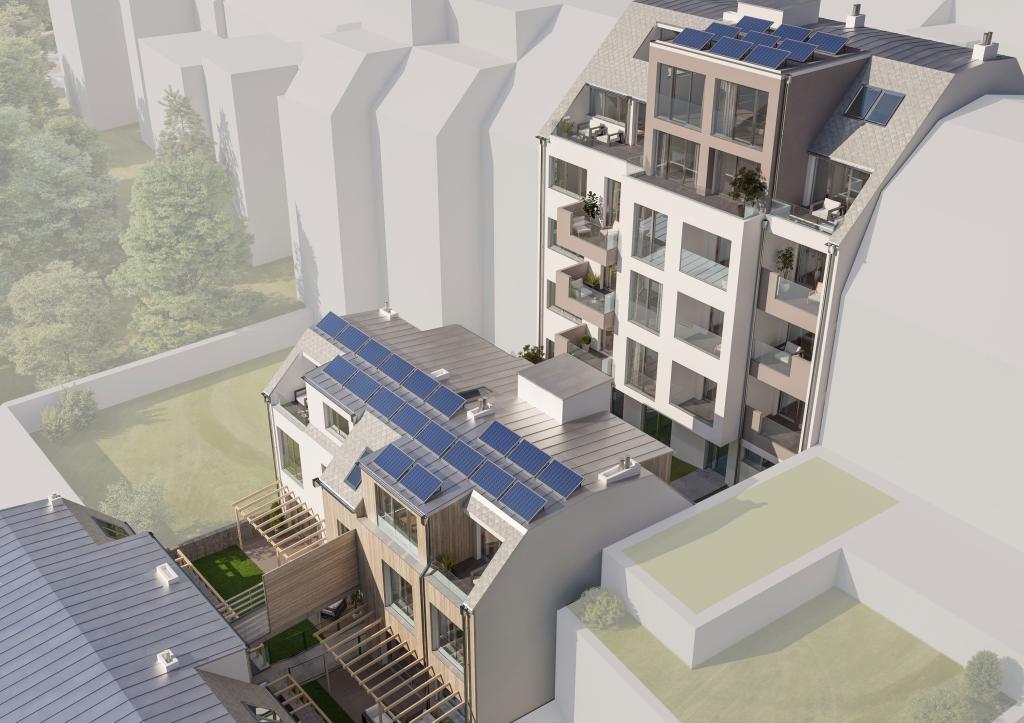 jpgcnt ---- Wunderschöne Aussicht! Luxuriöses Penthouse mit 2 Terrassen am Baumgartner -Casino- Park! /  / 1140Wien / Bild 3
