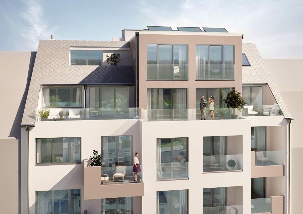 jpgcnt ---- Wunderschöne Aussicht! Luxuriöses Penthouse mit 2 Terrassen am Baumgartner -Casino- Park! /  / 1140Wien / Bild 4
