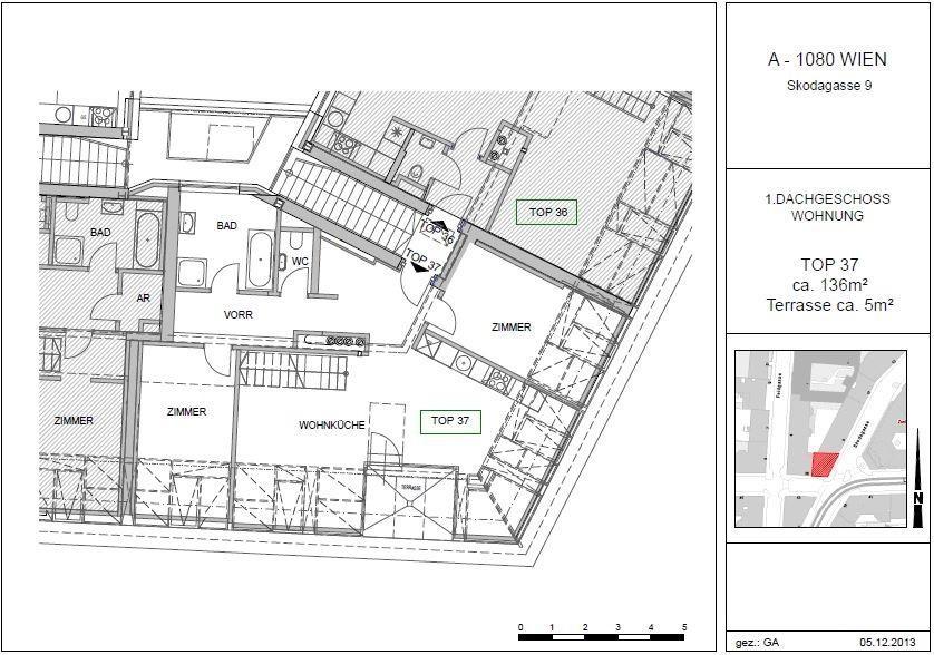 Traumhafte DG-Wohnung mit exklusiver Ausstattung /  / 1080Wien / Bild 2