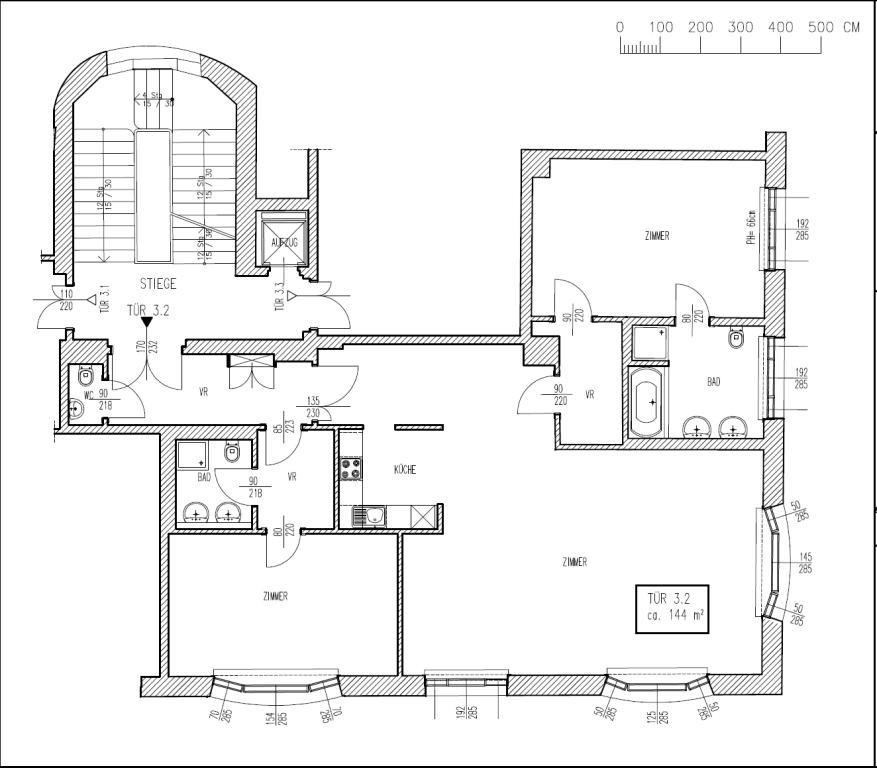 STILVOLL & GROßZÜGIG: Altbauwohnung mit TOP-Austattung /  / 1040Wien / Bild 4