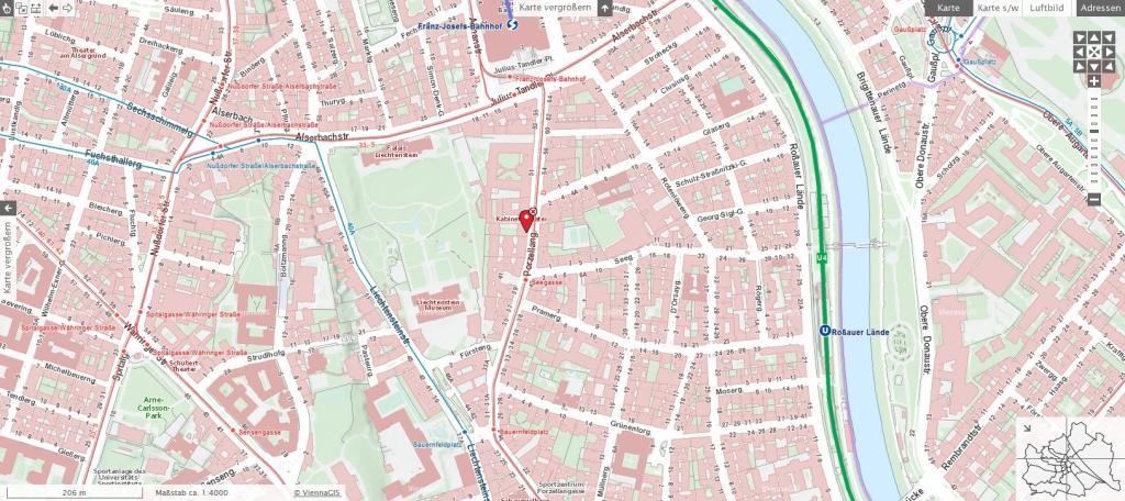 jpgcnt ---- Perfekt aufgeteilte Terrassenwohnung in erstklassiger Lage /  / 1090Wien / Bild 3