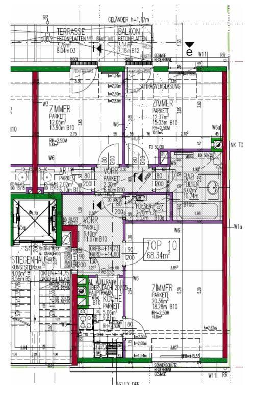 jpgcnt ---- Ruhig und modern: Neubau-Wohnung mit Balkon /  / 1190Wien / Bild 5