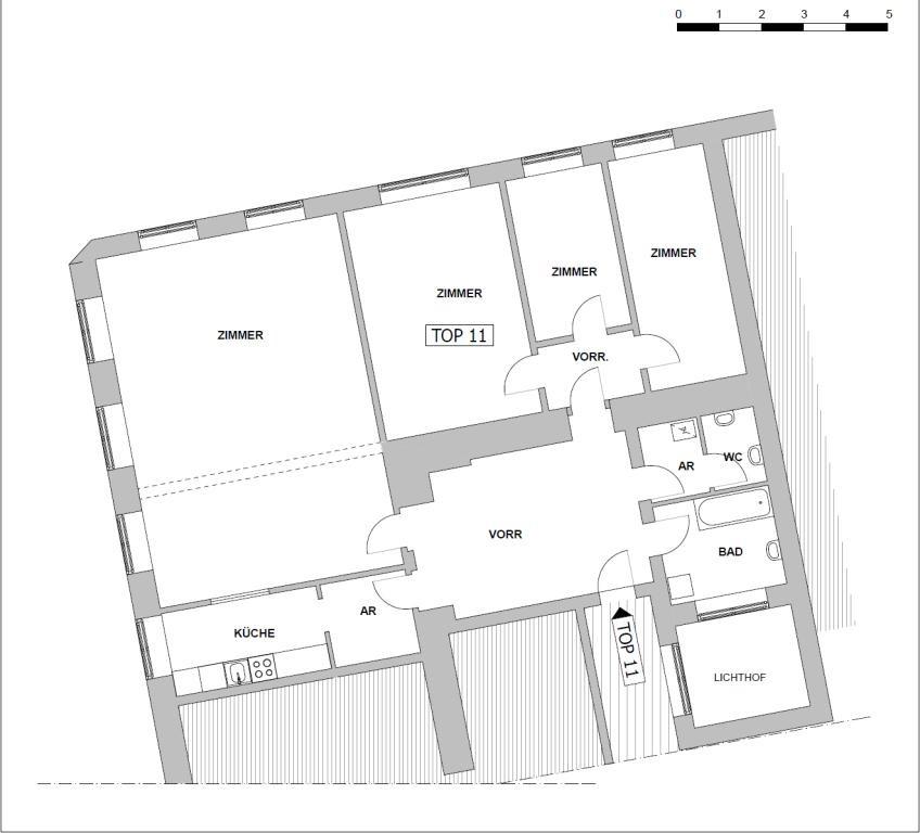 jpgcnt ---- UNBEFRISTET!!! Top-sanierte 4-Zimmer Altbauwohnung mit perfekter Raumaufteilung /  / 1080Wien / Bild 1