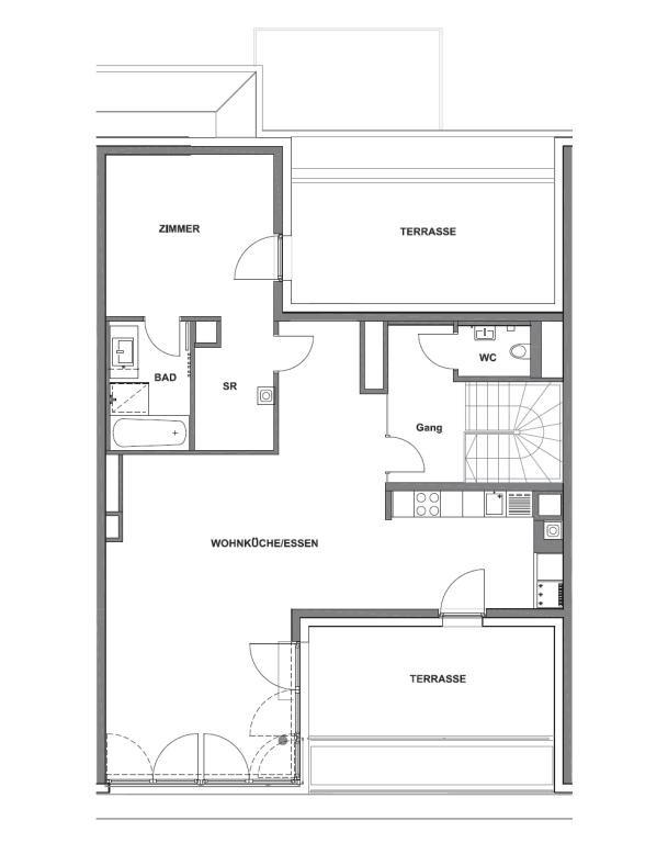 """jpgcnt ---- 4 Zimmer Terrassenwohnung nahe """"Mariahilfer-Einkaufsmeile"""" /  / 1070Wien / Bild 9"""
