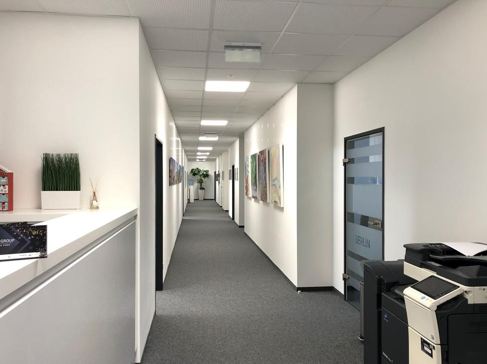 Musterbild Büroausbau