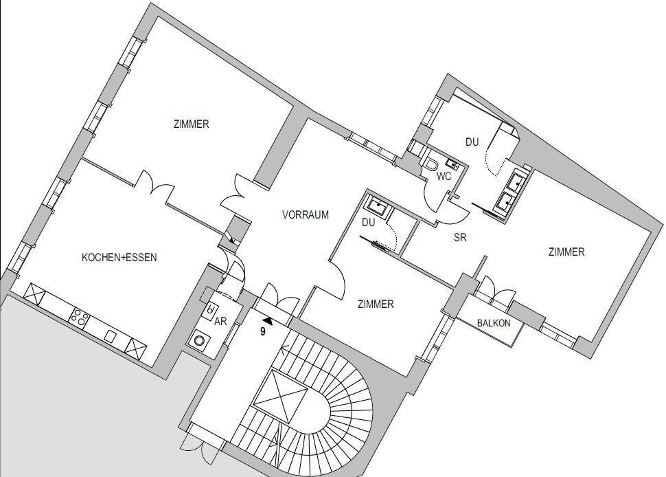 stadtnahe Altbauwohnung mit kleinem Balkon -  unbefristet /  / 1030Wien / Bild 0
