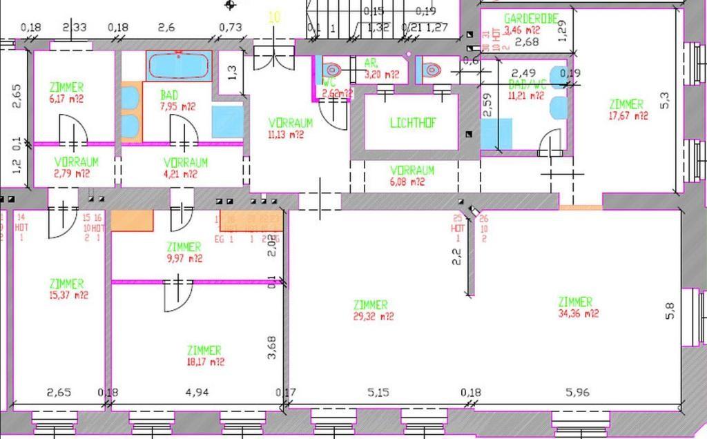 jpgcnt ---- komplett möbliertes Apartment in Stilhaus /  / 1090Wien / Bild 2