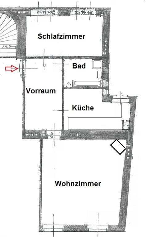 helle Altbauwohnung in Jahrhundertwendehaus - saniert /  / 1070Wien / Bild 0