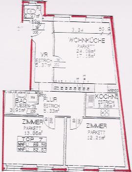 modern möblierte Wohnung mit Grünblick - AUCH  MONATEWEISE ANMIETBAR /  / 1180Wien / Bild 0