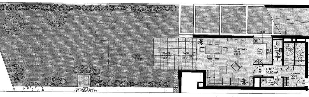 jpgcnt ---- Gartenwohnung mit Terrasse und Balkon - ZWEITBEZUG /  / 1130Wien / Bild 2
