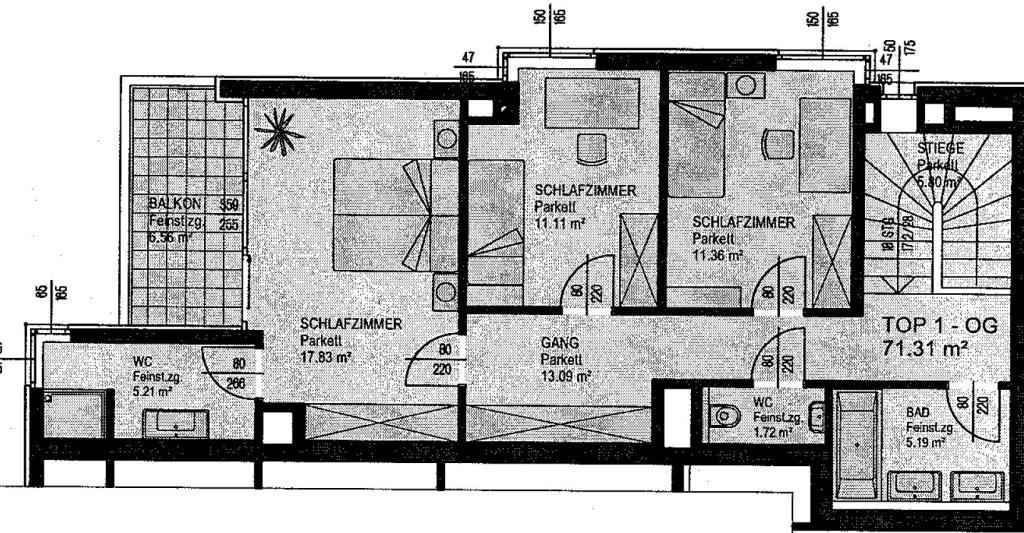 jpgcnt ---- Gartenwohnung mit Terrasse und Balkon - ZWEITBEZUG /  / 1130Wien / Bild 3