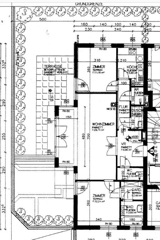 Sehr gepflegte Terrassenwohnung mit kleinem Garten im 1. Stock! - ruhig gelegen /  / 1180Wien / Bild 0