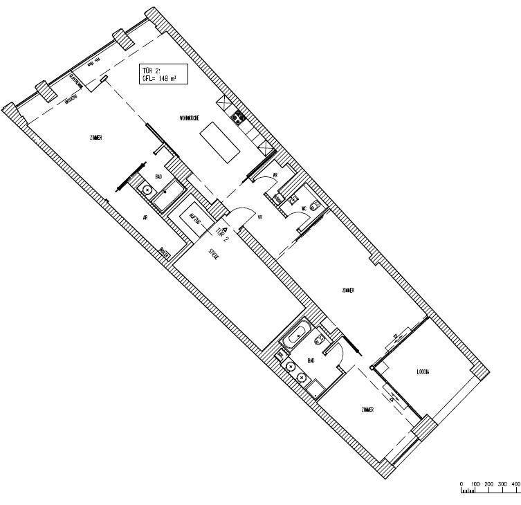 jpgcnt ---- stadtnahe, modern ausgestattete Altbauwohnung mit Balkon - unbefristet /  / 1060Wien / Bild 3