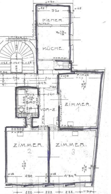 jpgcnt ---- Altbauwohnung in Jugendstilhaus - unbefristet /  / 1070Wien / Bild 2