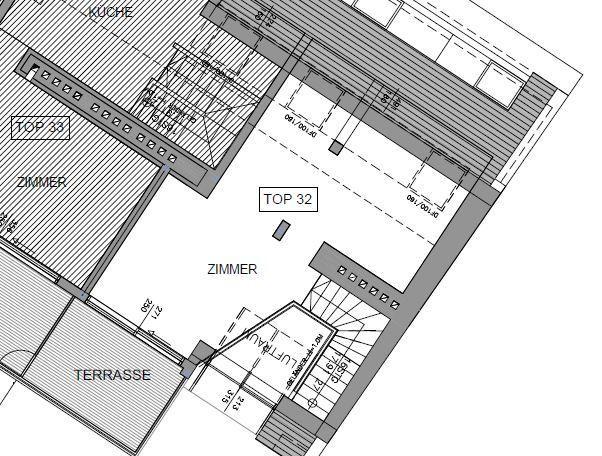 jpgcnt ---- Dachgeschoßmaisonette mit Terrasse in Jahrhundertwendehaus - unbefristet /  / 1030Wien / Bild 0