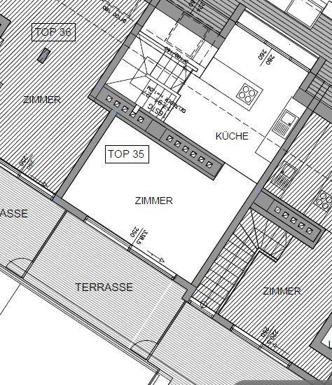 jpgcnt ---- Dachgeschoßmaisonette mit Terrasse - unbefristet /  / 1030Wien / Bild 1