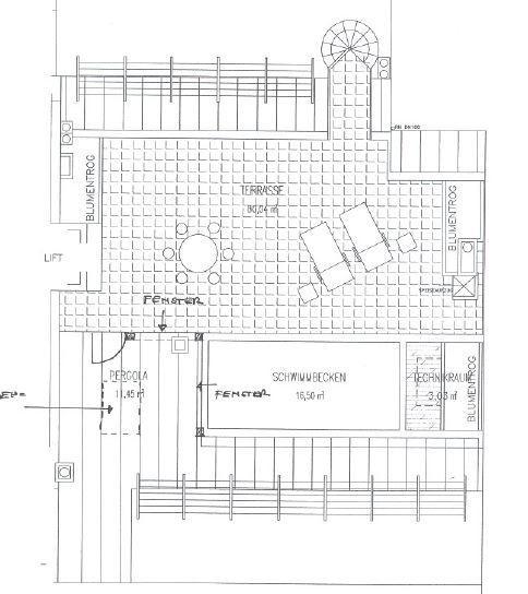 Penthouse mit Terrasse und Privatpool /  / 1180Wien / Bild 10