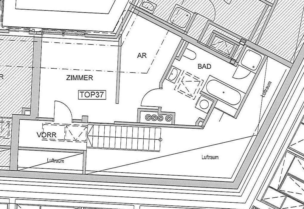 jpgcnt ---- Moderne Dachgeschoßwohnung mit Terrasse in schönem Stilhaus - unbefristet /  / 1080Wien / Bild 0