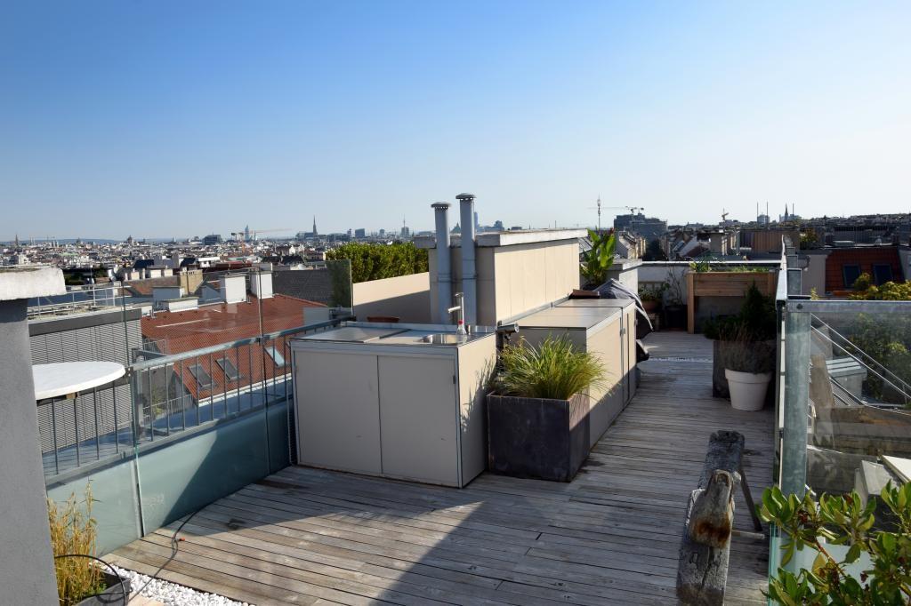 jpgcnt ---- Penthouse - Dachterrasse mit 360° Rundblick /  / 1050Wien / Bild 2
