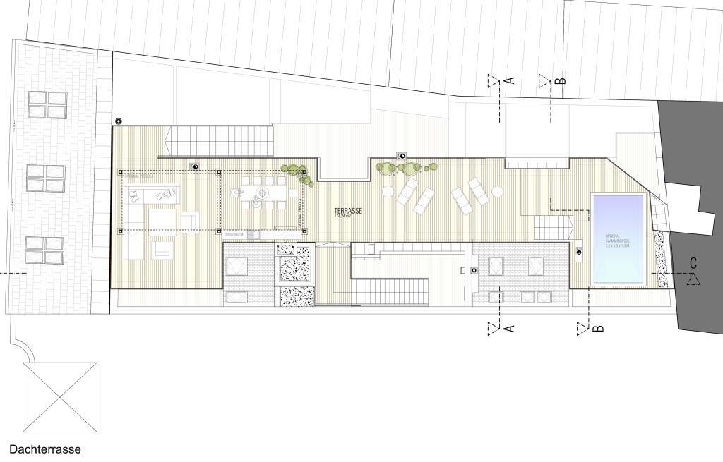 außergewöhnliche Luxus Dachterrassen Wohnung in nobler Lage / Erstbezug /  / 1190Wien, Döbling / Bild 10