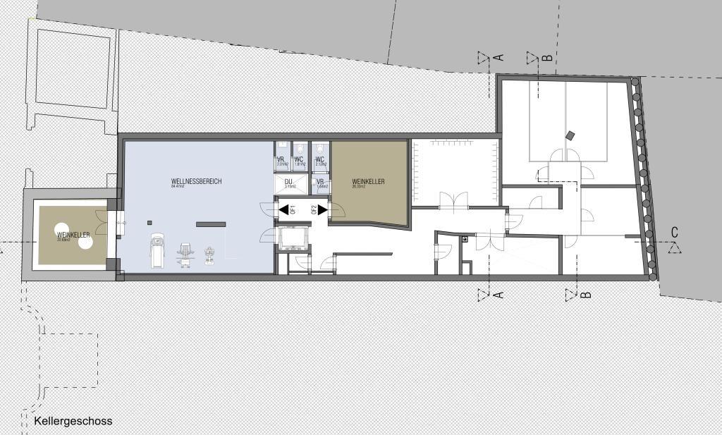 außergewöhnliche Luxus Dachterrassen Wohnung in nobler Lage / Erstbezug /  / 1190Wien, Döbling / Bild 11