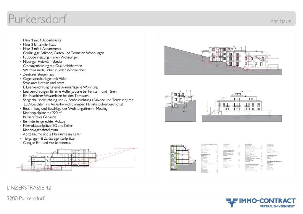 NOCH PLANVERKAUFSPREISE-FERTIGSTELLUNG in Kürze,3 Zimmer, 3 Balkone, 79m2, PLstr42 Top 6 /  / 3002Purkersdorf / Bild 4