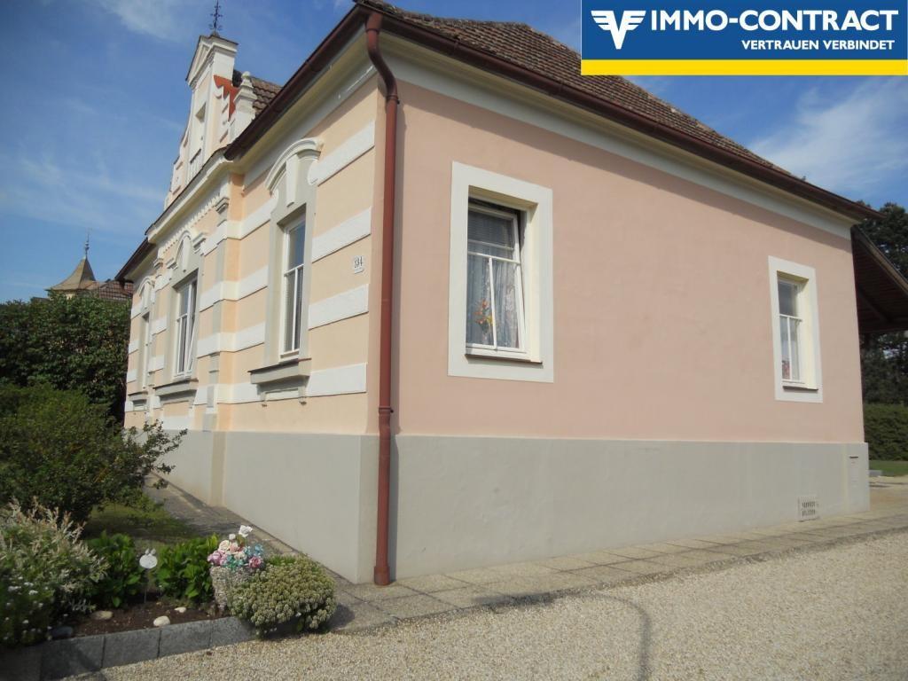 jpgcnt ---- Jahrhundertwendevilla zzgl. kleines Einfamilienhaus und Nebengebäuden (ehem. Ottakringer-Bierdepot) /  / 3571Gars am Kamp / Bild 1