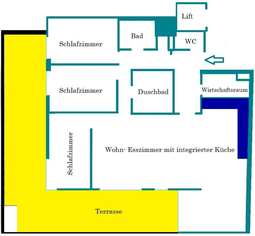 FAMILIENGERECHTE WOHNUNG NÄHE OBKIRCHERMARKT MIT KLEINEM GARTEN UND GARAGENPLATZ /  / 1190Wien / Bild 4